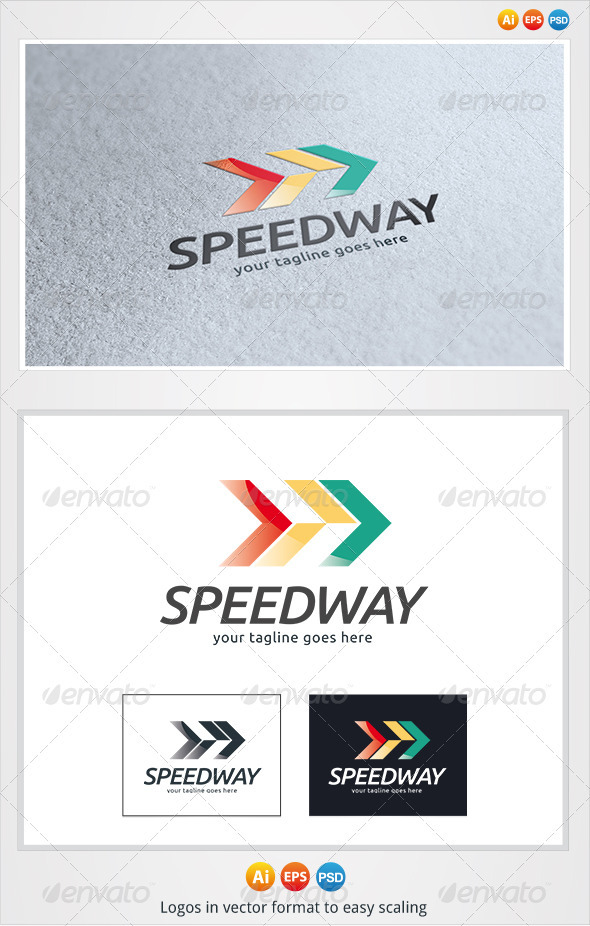 GraphicRiver Speed Way Logo 3278163