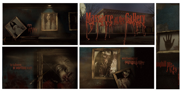 After Effects Project - VideoHive Massacre at The Gallery Opener 3267627