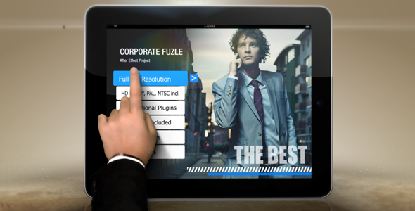 After Effects Project - VideoHive Corporate Fuzle 3265912