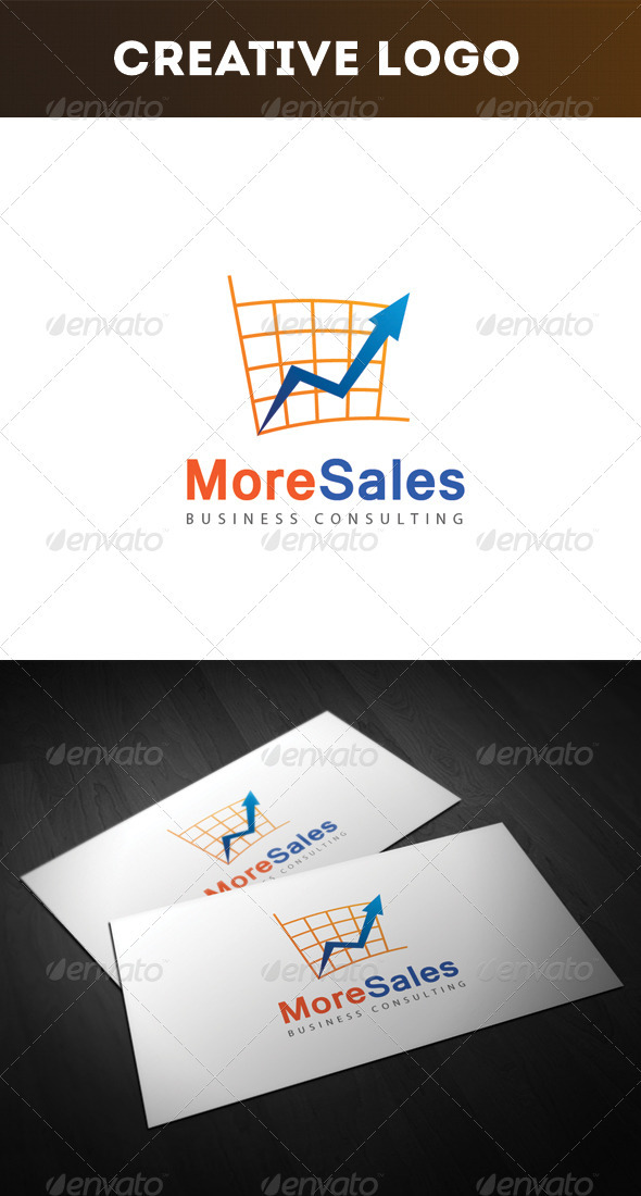 GraphicRiver More Sales Logo 3277821