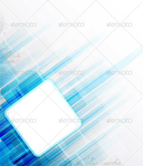 GraphicRiver Blue Abstract Background 3287603