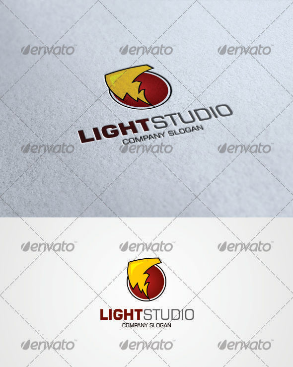 GraphicRiver Light Studio Logo 3287776