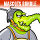 Funny Alien Mascots Bundle - GraphicRiver Item for Sale