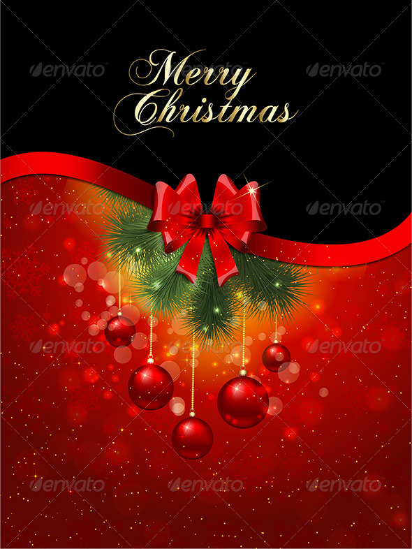 GraphicRiver Christmas background 3287860