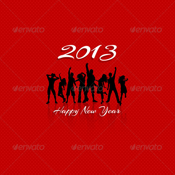 GraphicRiver New Year Party background 3288056