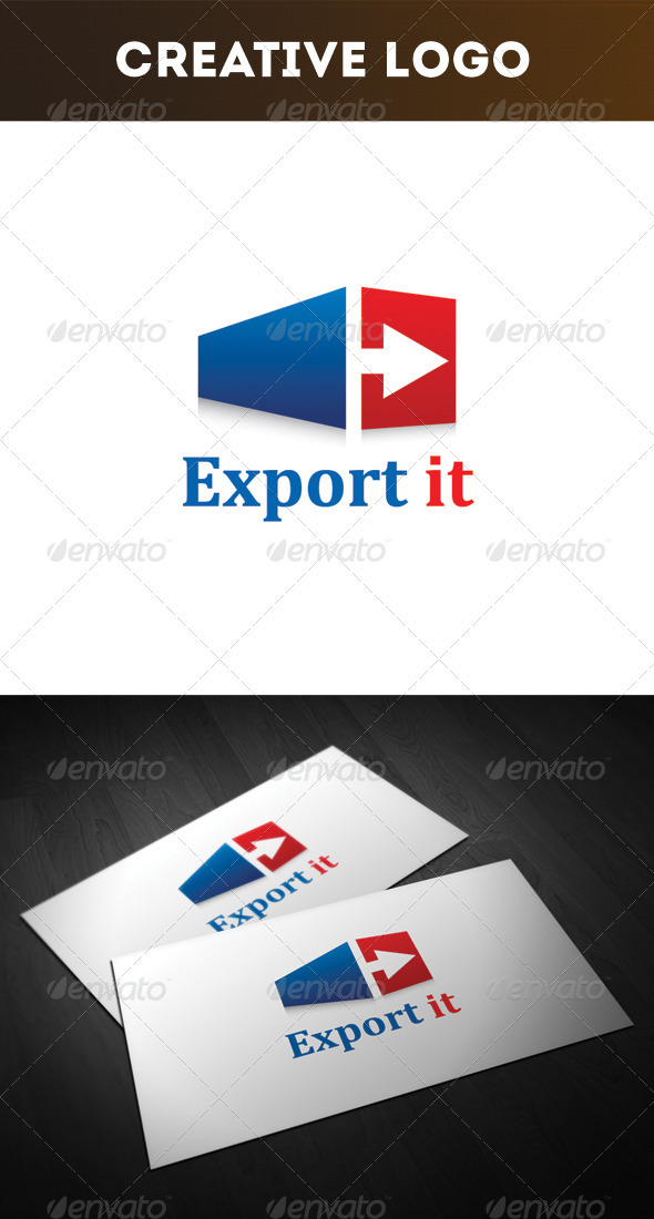 GraphicRiver Export it Logo 3281519