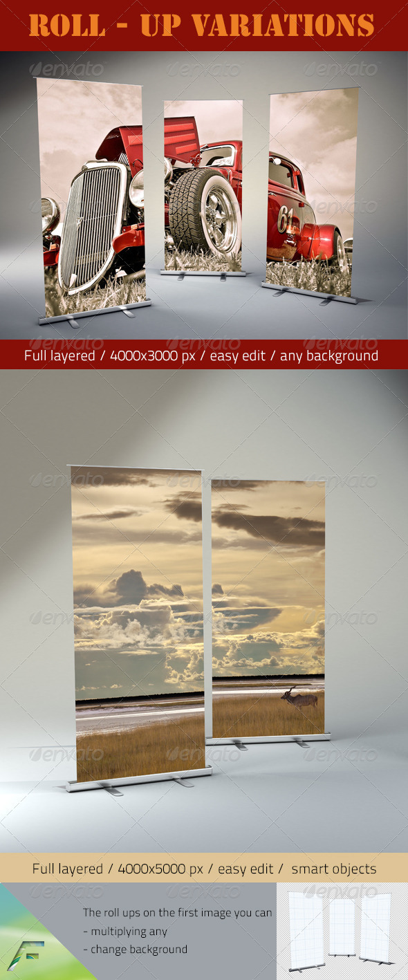 GraphicRiver Roll-Up Variations 3288265