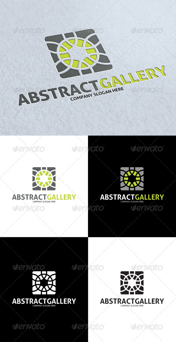 GraphicRiver Abstract Gallery Logo 3288358