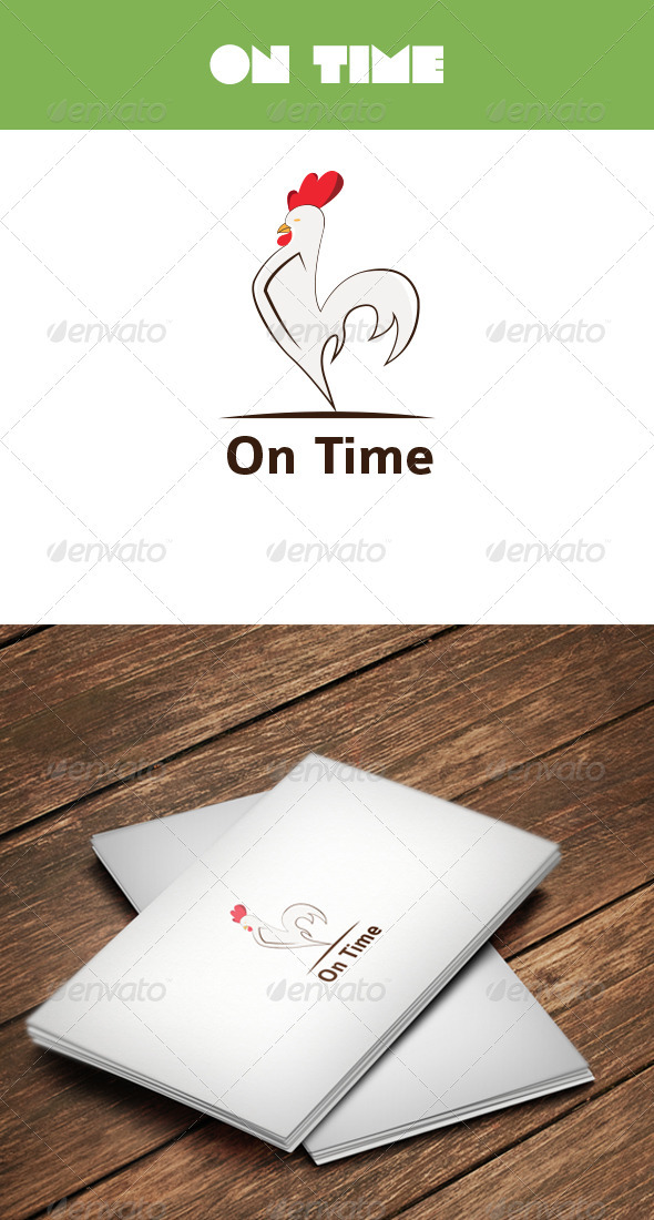 GraphicRiver On Time Logo 3281981