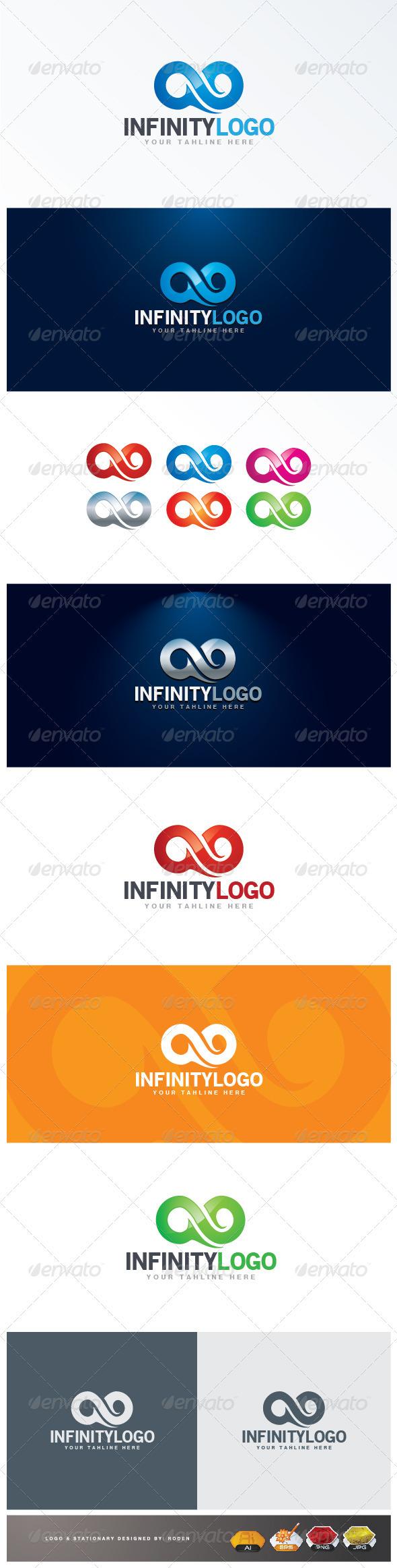 GraphicRiver Infinity logo 3289137