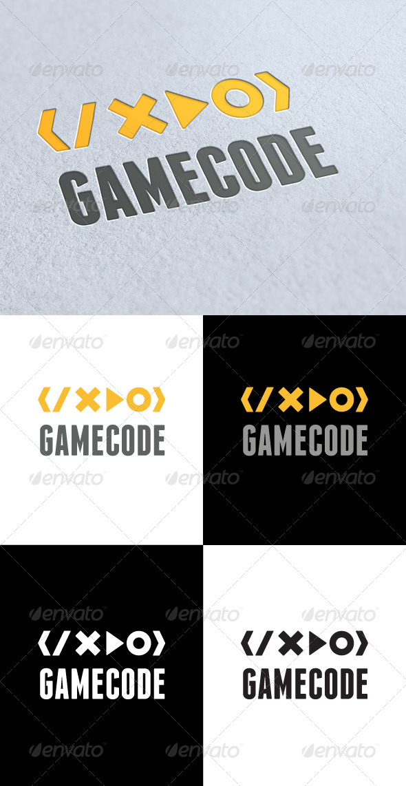GraphicRiver Game Coding Logo 3289212
