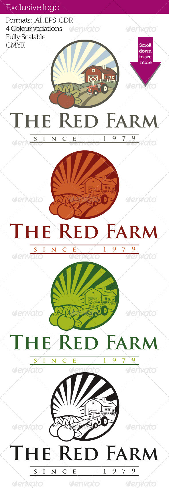 GraphicRiver Red Farm 3280284