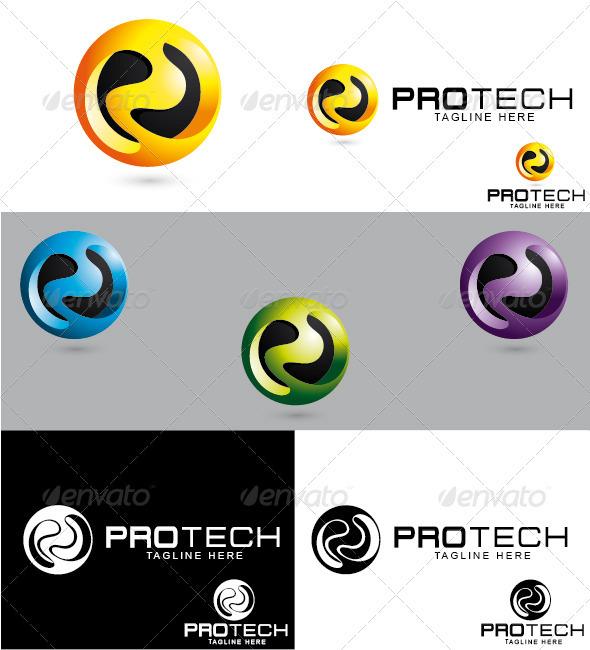 GraphicRiver Protech Logo 3289958