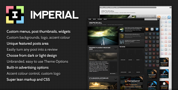 Imperial - Blog / Magazine WordPress