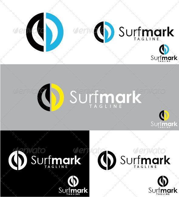 GraphicRiver Surfmark Logo 3289990