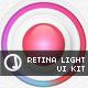 Retina Light UI - GraphicRiver Item for Sale