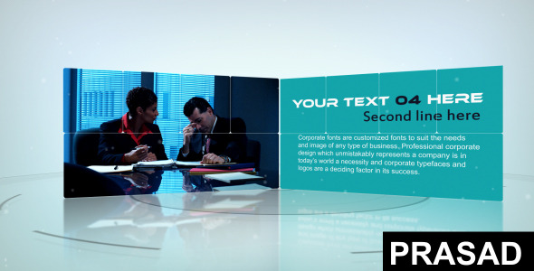 After Effects Project - VideoHive Clean Presentation 3264484