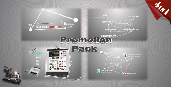 VideoHive Website Product App Promotion Pack 3290157