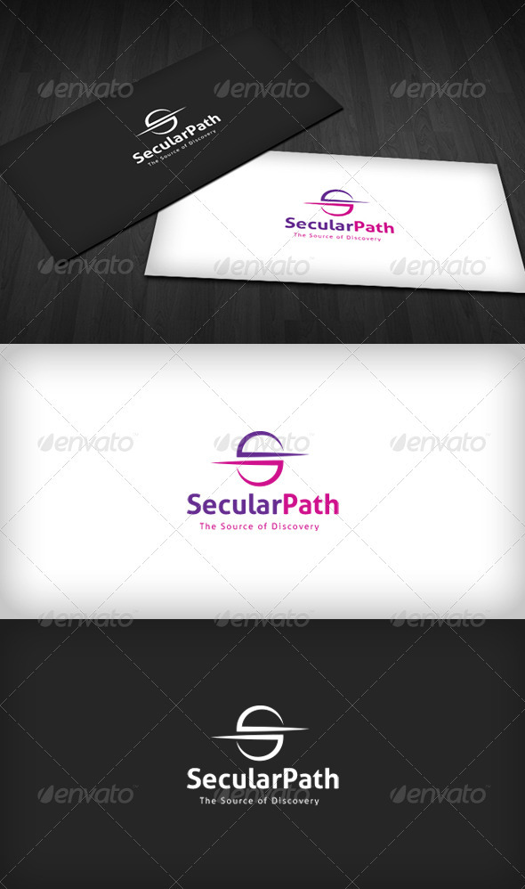GraphicRiver Secular Path Logo 3290353