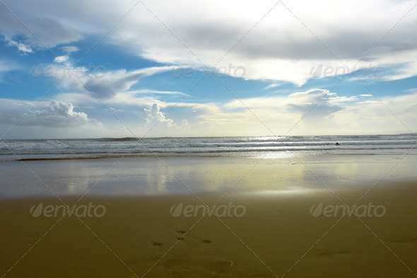 Beach landscape 1 - Stock Photo - Images