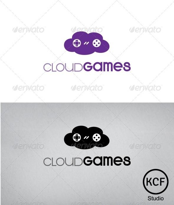 GraphicRiver CloudGames Logo Design 3290490