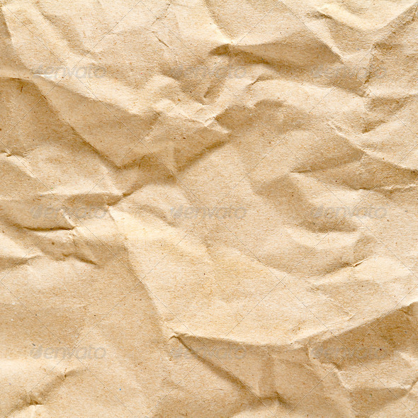 Top view brown paper texture and background - Stock Photo - Images