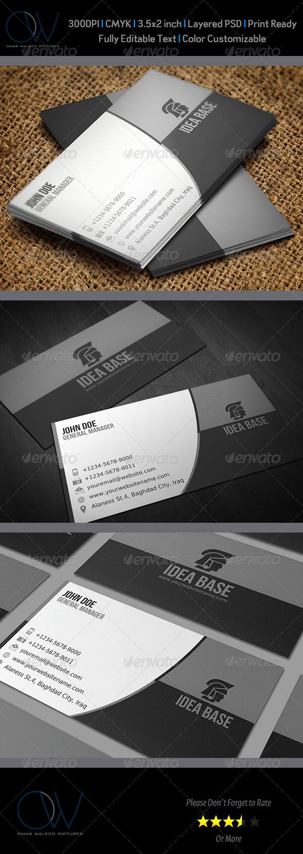 GraphicRiver Corporate Business Card Vol.4 3290964