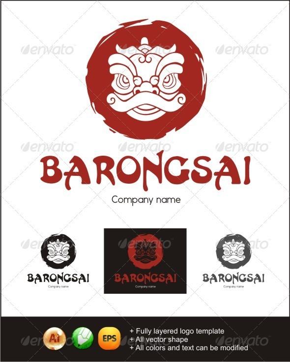Barongsai logo - Symbols Logo Templates