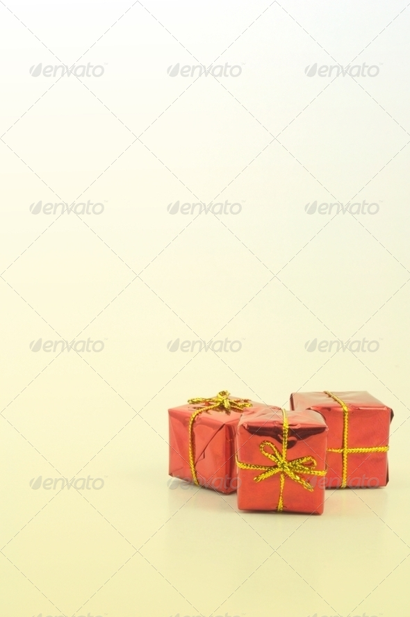 christmas presents - Stock Photo - Images