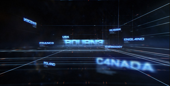 After Effects Project - VideoHive Bourne 3291097