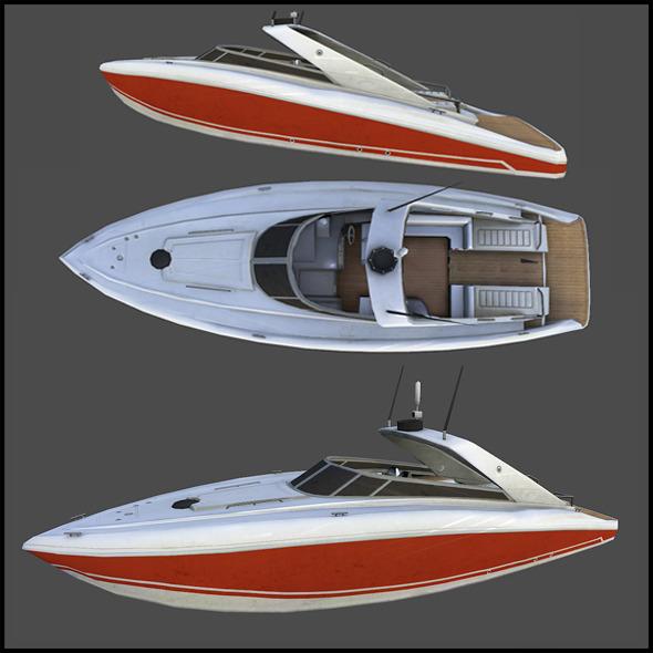 3DOcean SpeedBoat 3291111