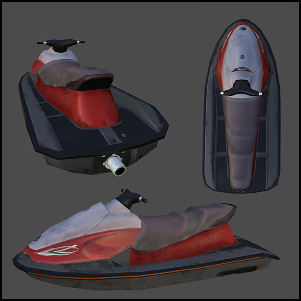 Jetski - 3DOcean Item for Sale