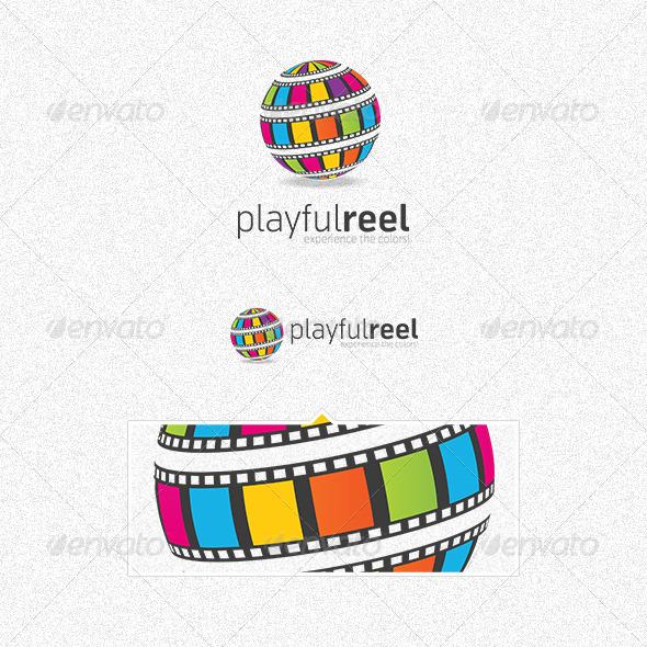 GraphicRiver Playfulreel Logo 3272268