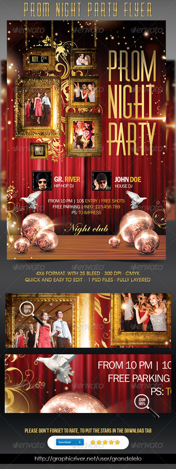 Prom Night Party - Clubs & Parties Events