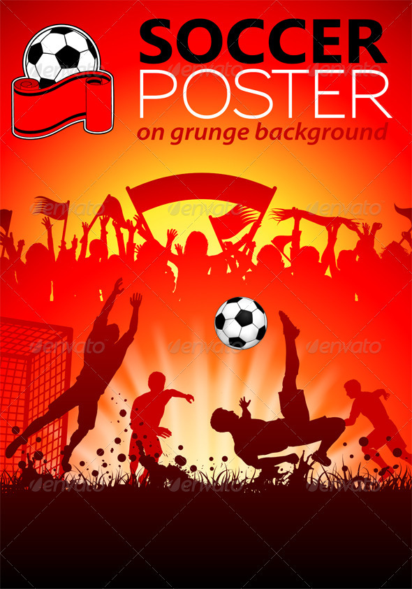 GraphicRiver Soccer Poster 3291455