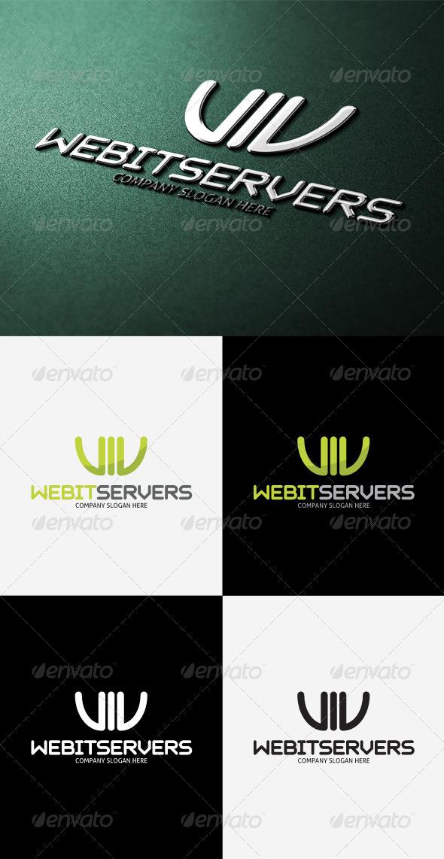 GraphicRiver Web It Servers Logo 3291513