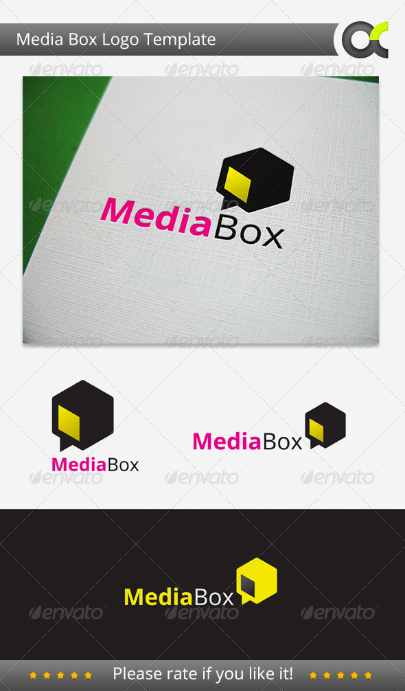 GraphicRiver Media Box Logo 3291538