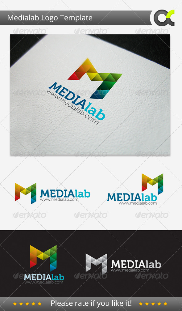 GraphicRiver Medialab Logo Template 3291544