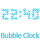 Bubbles Clock - ActiveDen Item for Sale