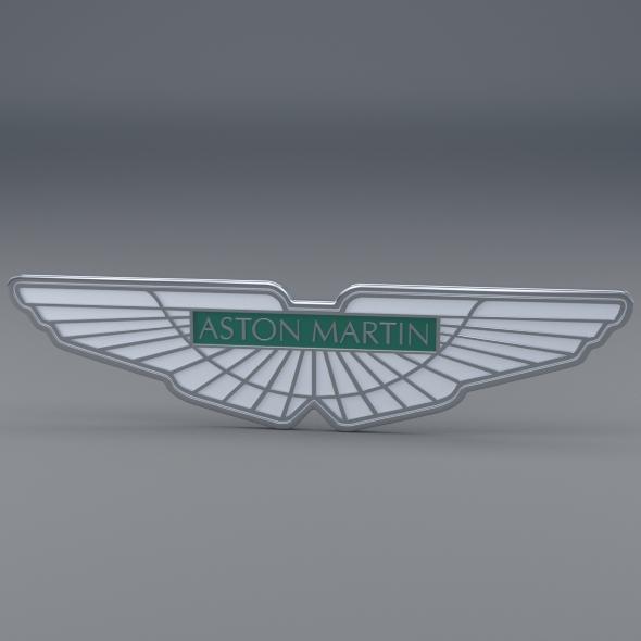 3DOcean Aston Martin Logo 3291957