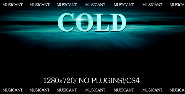 After Effects Project - VideoHive Cold 116188
