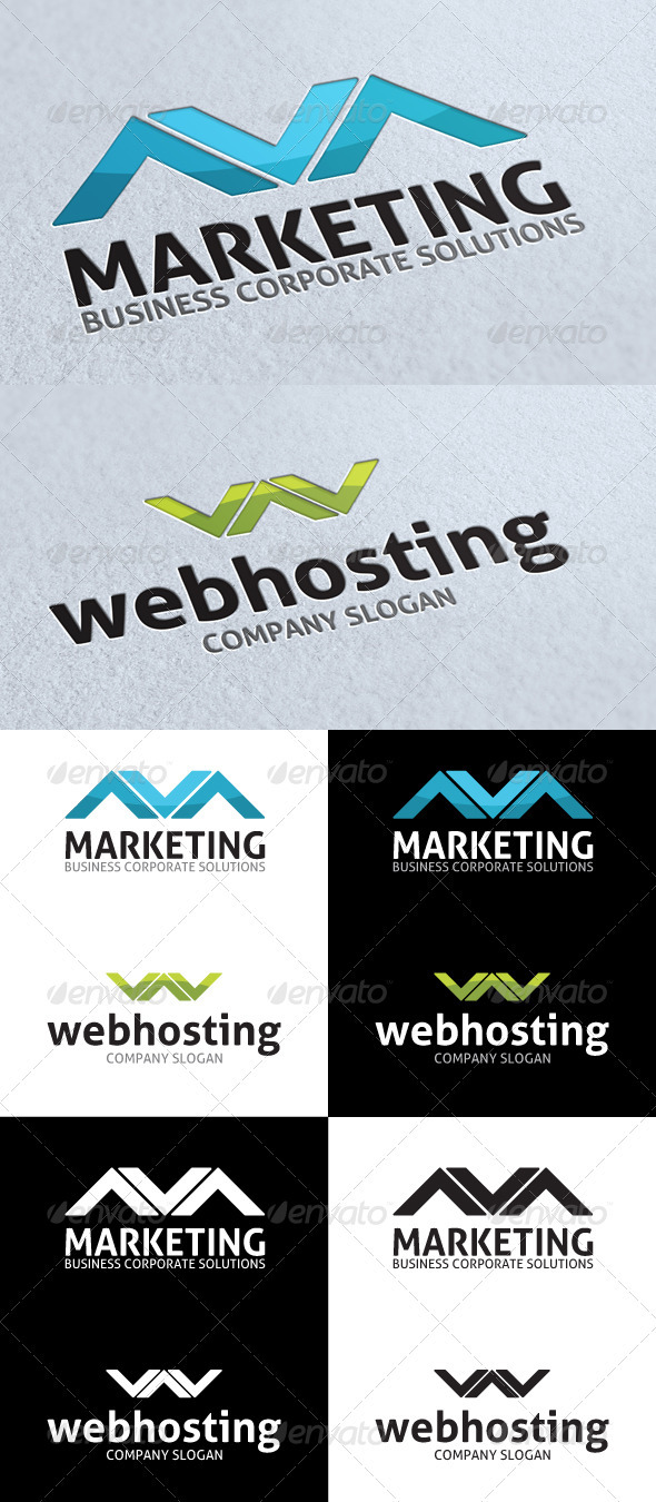 GraphicRiver Business Corporate Solutions Logo 3292175