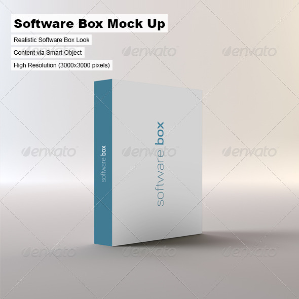 GraphicRiver Software Box Mock-up 3292392