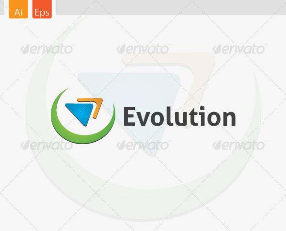 Evolution Logo Template - Symbols Logo Templates