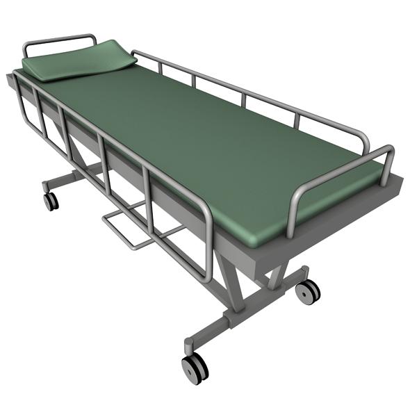 3DOcean Hospital Bed 115311
