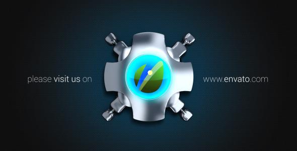 VideoHive Futuristic Logo Intro 3295223