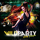 Wild Party Poster/Flyer