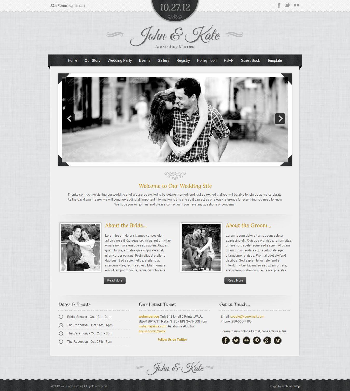 Cherish Joomla Marriage & Wedding Theme