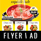 Restaurant Flyer / Magazine AD - GraphicRiver Item for Sale