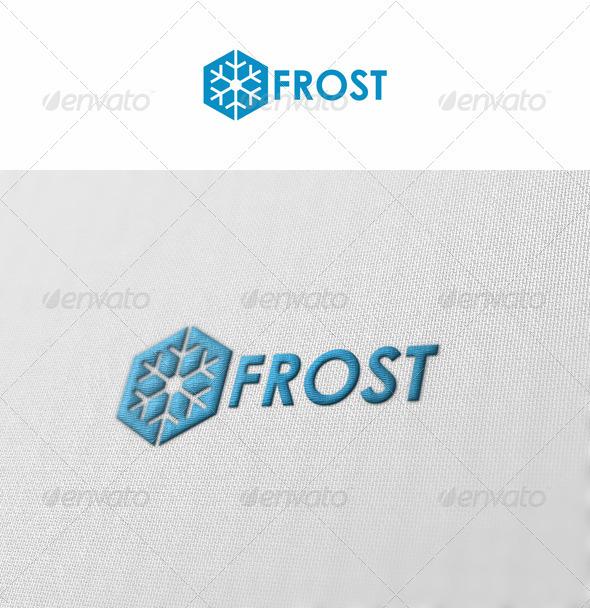 GraphicRiver Frost Snowflake Logo 3296080